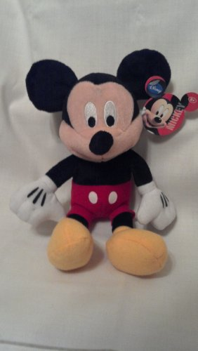 "Disney Classic Mickey Mouse Plush Stuffed Toy-9"" - 1"