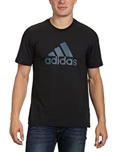 adidas Herren T-Shirt Essentials Logo Tee, Black/Daronx, XL, X19256
