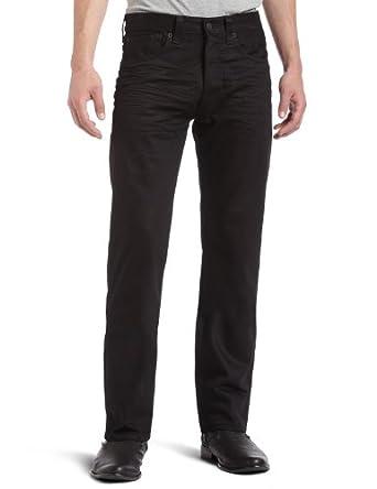 Levi's Men's 501 Original Fit Jean, Polished Black, 29x30