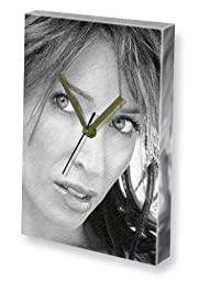DANNII MINOGUE - Canvas Clock (LARGE A3 - Signed by the Artist) #js001