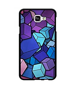 Crazymonk Premium Digital Printed Back Cover For Samsung Galaxy A7(2016)