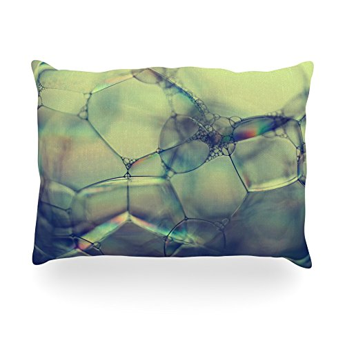 kess-inhouse-ingrid-beddoes-bubblicious-green-blue-oblong-rectangle-outdoor-throw-pillow-14-by-20-in