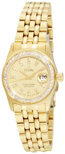 Titoni Women's 728 G-DB-306 Cosmo Queen Swiss Automatic Watch