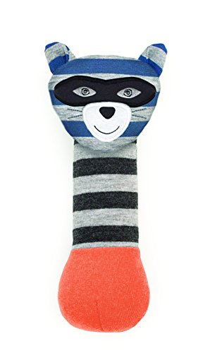 Organic Farm Buddies, Robbie Raccoon Squeaky Toy