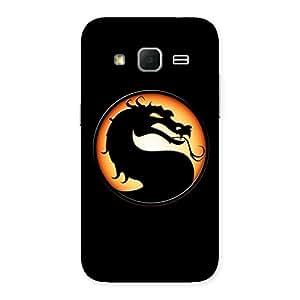 Cute Mortal Black Back Case Cover for Galaxy Core Prime