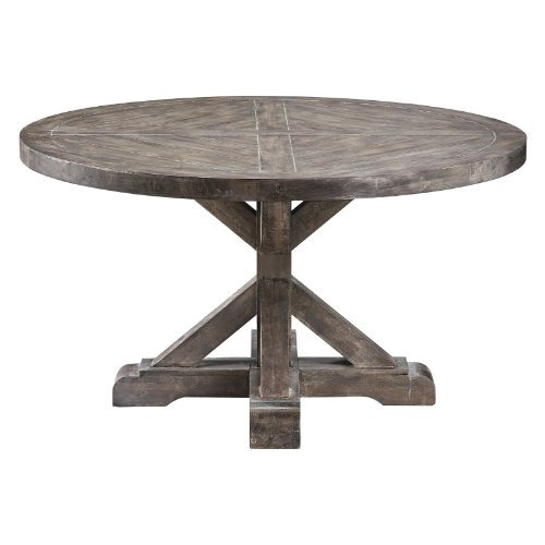 Round Drum Modern Eco Coffee Table SCH 550435 Coffee Table Bargain