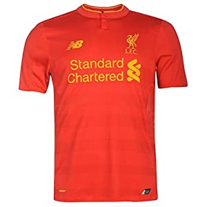 Liverpool FC LFC HOME JUNIOR SS JERSEY - MB (CHANGE ME) Official from New Balance