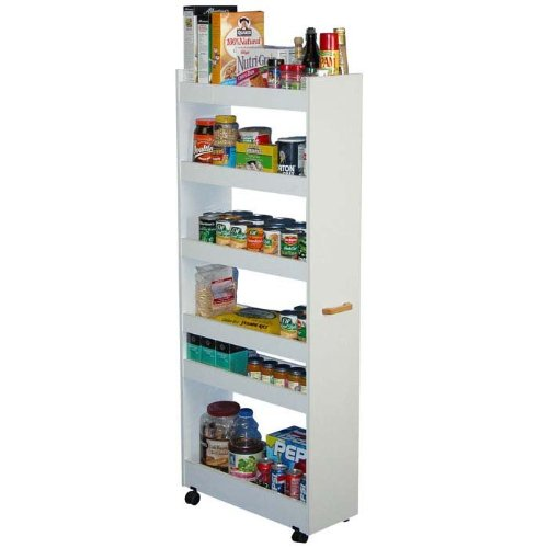 Thin Pull-Out Pantry/Laundry Cabinet