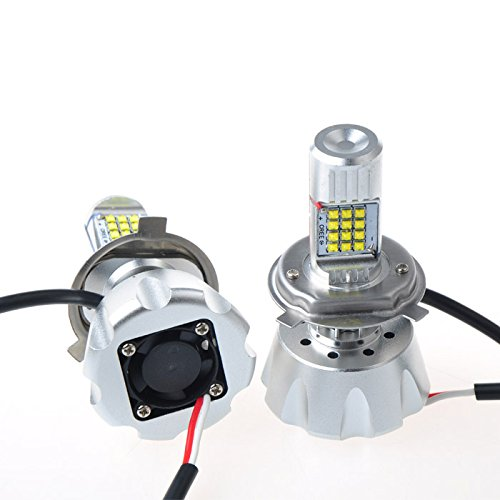 Suparee Car Head Lights 2X Cree Xbd 120W 3000Lm Led Headlight Auto Truck Car Powerful H4 High Low Bulb With 24Leds 6000K Igniters Leds Headlights Led Conversion Kit