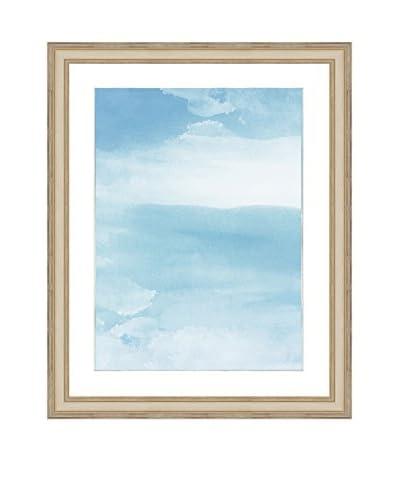 Art Source Watercolor Sky Print II, Multi, 23 x 19