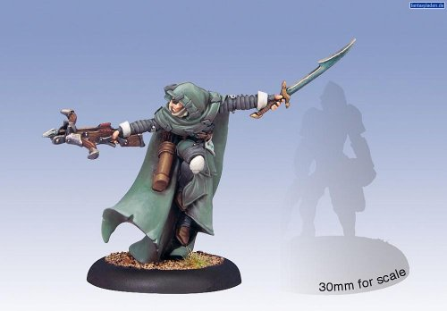 Privateer Press Warmachine - Retribution of Scyrah - Mage Hunter Commander Model Kit