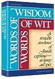 Words of Wisdom, Words of Wit (Artscroll)