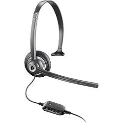 Plantronics M214C - M214C Over-the-Head Mobile/Cordless Phone Headset w/Noise Canceling Mic