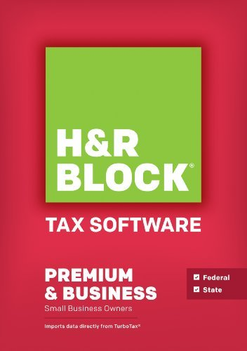 H&R Block Tax Software Premium & Business 2014 Win
