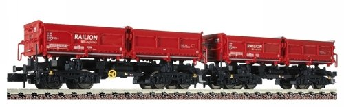 Fleischmann 853010 N Railion Self-Unlading Hopper Wagon Set (2) V