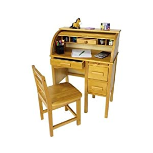 Children S Roll Top Writing Desk Amazon Co Uk Toys Amp Games
