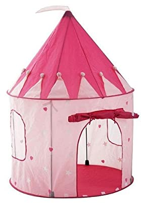 Girl's Pink Princess Castle Play Tent by Pockos - Indoor / Outdoor from Pockos