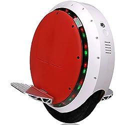 Monociclo elettrico autobilanciante, con altoparlante bluetooth e luce LED anteriore, portata di 35 km