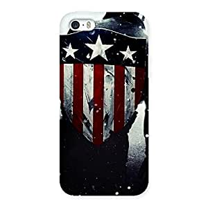 Vintage Shield Multicolor Back Case Cover for iPhone 5 5S