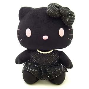 Sanrio Hello Kitty Dancing Plush Doll Speaker (Black) (japan import)