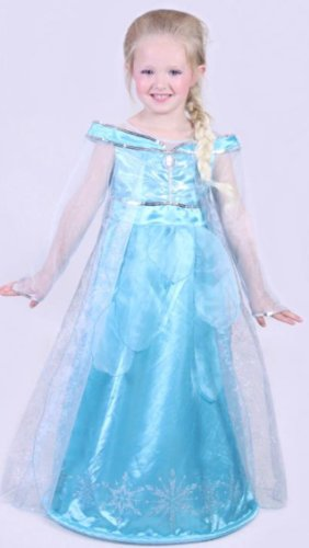 Authentic Disney Paris Elsa Frozen Costume Dress up Girls Age Size 4