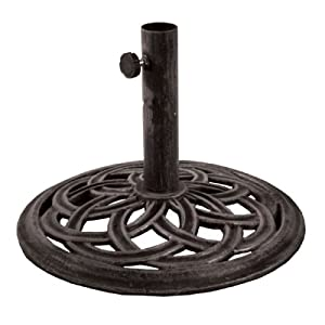 Patio Umbrella Stands and Bases | Wayfair - Umbrellas, Patio Stand