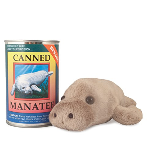 Canned Critters Stuffed Animal: Manatee 6