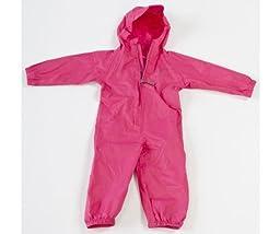 18-24 Months Pink Waterproof Packasuit