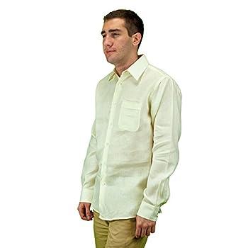 Mens long sleeve linen shirt.