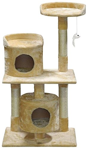 Go Pet Club F78  Cat Tree Furniture, 43-Inch Go Pet Club B00LMY2KPQ