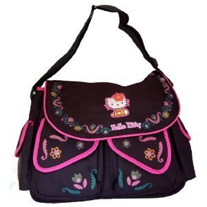 Hello Kitty Large Messenger Diaper Bag front-65840