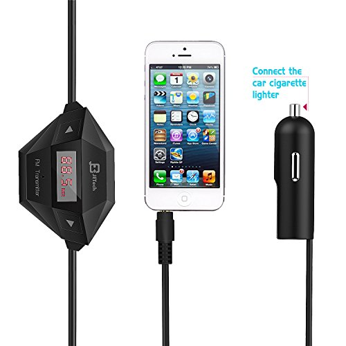FM-Transmitter-JETech-Wireless-FM-Transmitter-Radio-Car-Kit-for-Smart-Phones-bundle-with-35mm-Audio-Plug-and-Car-Charger