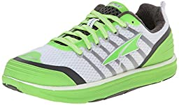 Altra Women\'s Intuition 2 Running Shoe,White/Green,5 M US