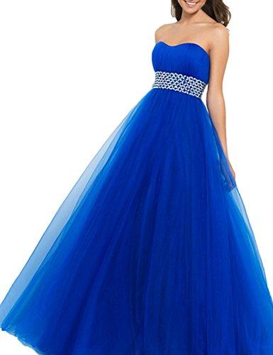 PromMe-Womens-Prom-Dresses-Strapless-Tulle-Beaded-Floor-Length-Evening-Dresses