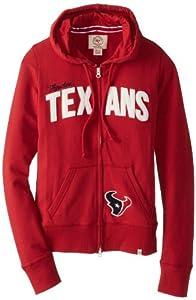 NFL Houston Texans Ladies Pep Rally Full Zip Hoodie by