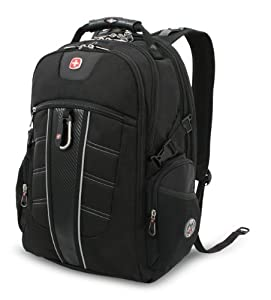 SwissGear TSA Backpack for 17-Inch Laptop with Accessory Pockets (SA1753)