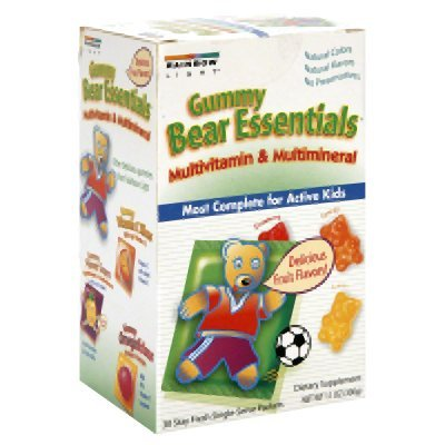 Rainbow Light Gummy Bear Essentials Multivitamin Multimineral Fruit - 30 Packets - (Pack Of 1)