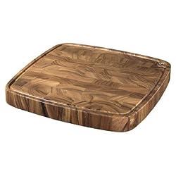Ironwood Gourmet, Acacia Wood, 18-inch by 18-inch by 3-inch Carolina Chopping Board