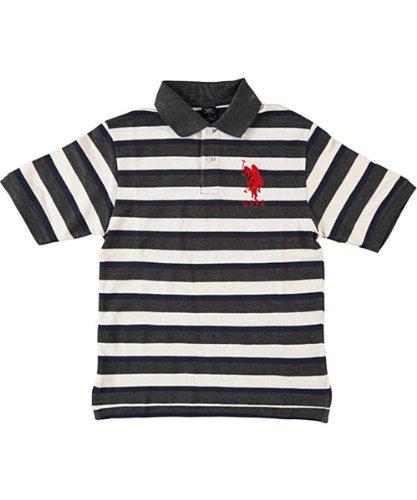 U.s. Polo Assn. Boys 8-20 Striped Polo