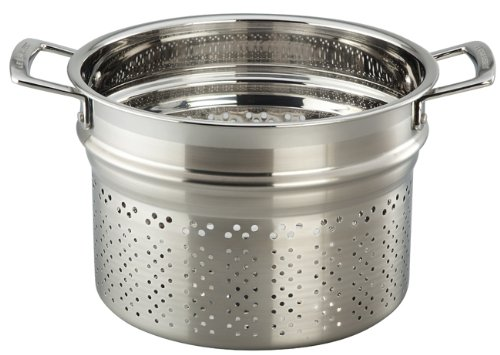 Le Creuset Tri-Ply Stainless Steel Pasta Insert