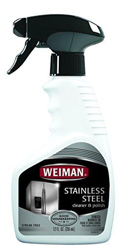 Weiman Stainless Steel Cleaner & Polish, 12 fl oz