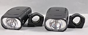 Amazon.com: Lot Of 2 Universal Bicycle Halogen Bright Head Lamp New: Sports & Outdoors