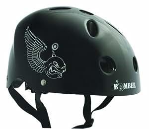 BONEShieldz Bomber Adult Helmet, Black