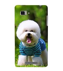 Vizagbeats Cute Pet Dog Back Case Cover for Lenovo Vibe Z K910