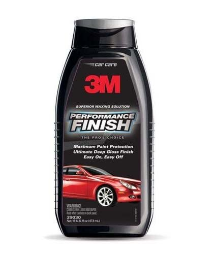3M Performance Finish Liquid Wax Deep Gloss Finish 473 ml