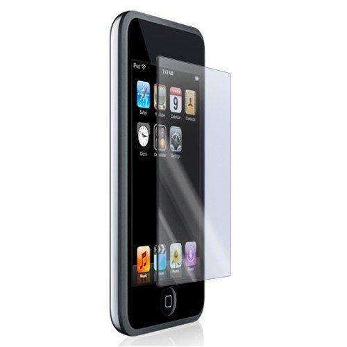 iKross Premium Reusable LCD Screen Protector with Lint Cleaning Cloth for iPod touch (Clear)