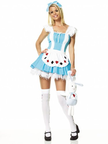 Sexy Alice In Wonderland Costume Fairytale Cartoon