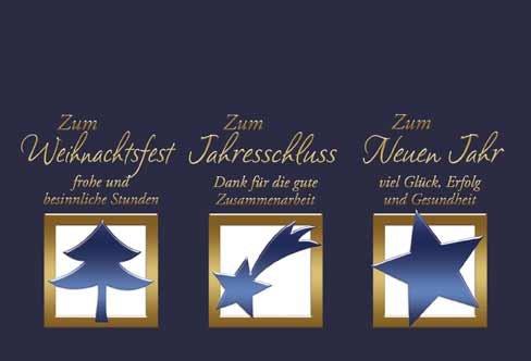 Sterne klappkarte f r weihnachtsw nsche set mit umschlag - Niedliche weihnachtskarten ...