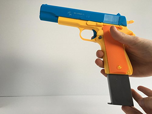 Children's Mauser Toy Pistol Classic m1911, Kids Colorful Toy Gun with Soft Bullets, Teach Shooter and Gun Safety, Real Dimensions, Fun Outdoor Game, Children Safe Play ... (Guns With Real Bullets compare prices)