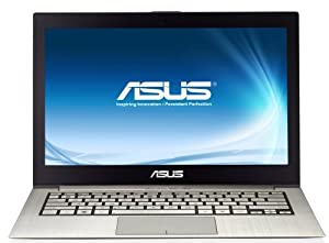 Asus Zenbook UX31LA-R5031H 33,8 cm (13,3 Zoll) Notebook (Intel Core i5 4200U, 1,6GHz, 4GB RAM, 128GB SSD, Intel HD, Win 8) silber